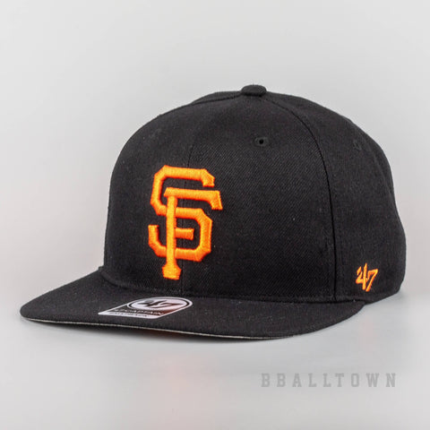 47 Brand MLB Šiltovka BK SURE SHOT San Francisco Giant