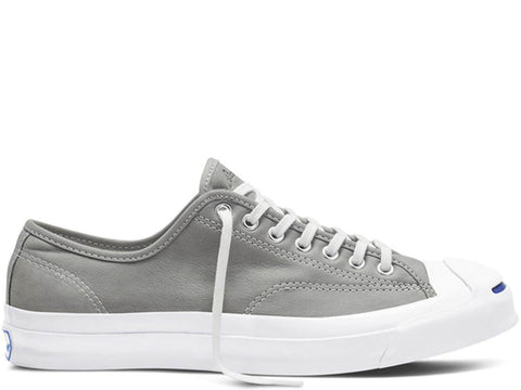 Converse Adults Jack Purcell Signature Buck Leather Ox Trainers