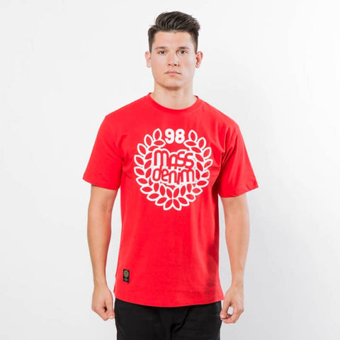 Mass DNM Base T-Shirt Red