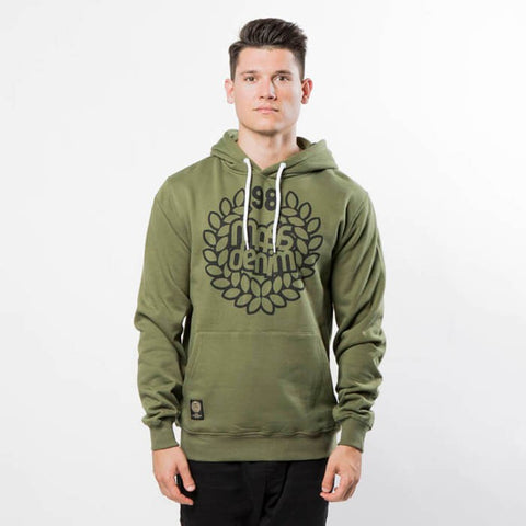Mass DNM Base Sweatshirt Hoody Khaki