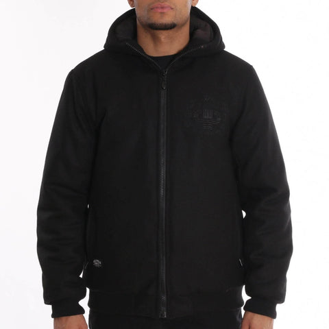 Pelle Pelle Anniversary Hooded Jacket Black