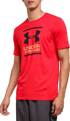 Under Armour Gl Foundation Ss T Red
