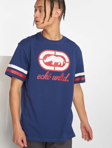 Ecko Unltd. Oliver Way T-Shirt Navy