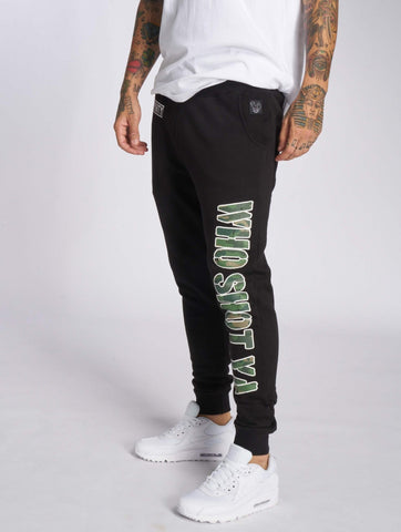 Who Shot Ya? Sweat Pant Camou Funk