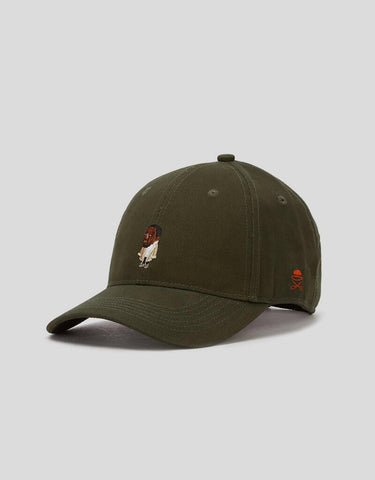 Cayler & Sons WL Seezn Curved Cap - olive/mc