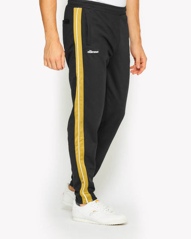 Ellesse Heritage Cassed Track Pant Black/Yellow