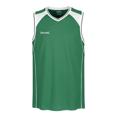 Spalding Crossover Tank Top Green/White
