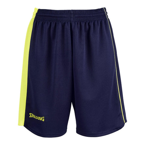 Spalding 4Her Ii Shorts Navy/Fluo Yellow