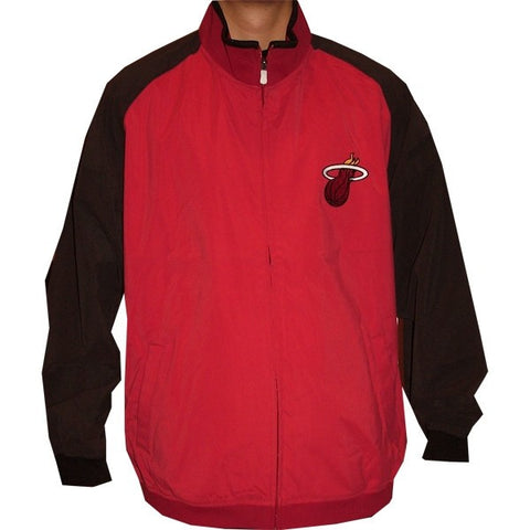 ADIDAS Miami Heat full zip NBA jacket