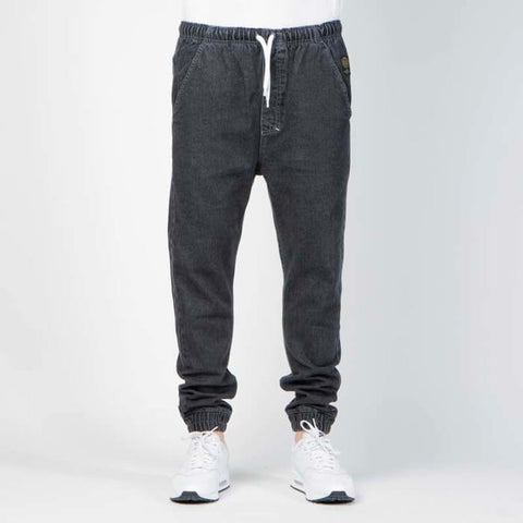 Mass Dnm Truth (Trap Fit) Joggers Jeans Black Rinse