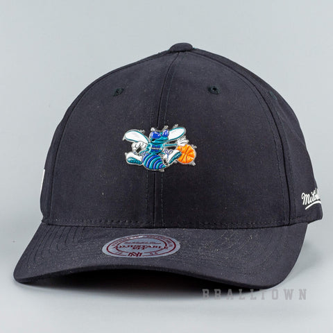 Mitchell & Ness Hwc Taped Snapback Charlotte Hornets Black