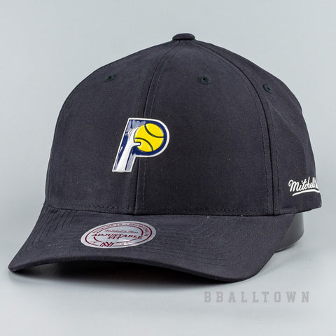 Mitchell & Ness Hwc Taped Snapback Indiana Pacers Black