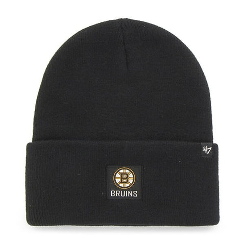 47 Boston Bruins Portbury Cuff Knit Black