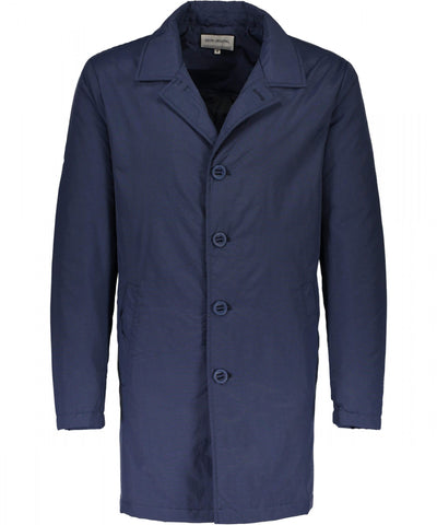 Shine Original Mac Coat Travis Navy