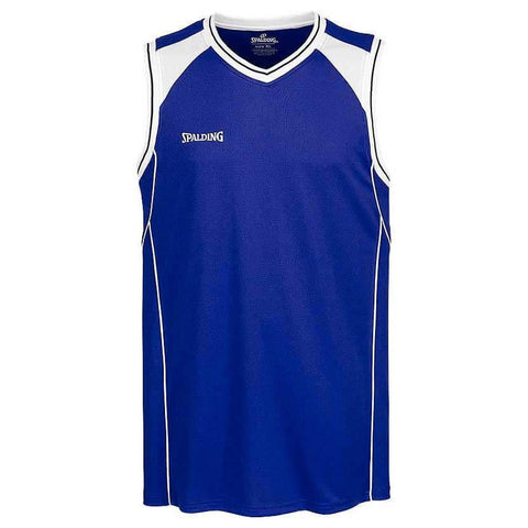 Spalding Crossover Tank Top Royal/White
