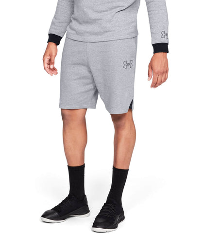 Under Armour Baseline Fleece Short Grey