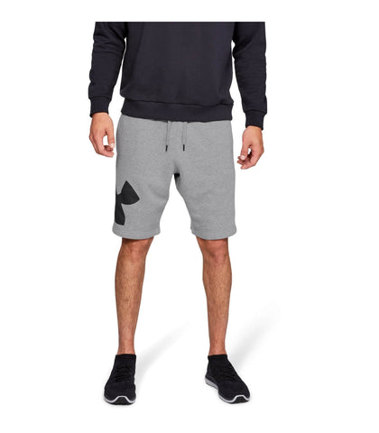 Under Armour Rival Fleece Logo Sweatshort Grey