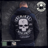 Mafia & Crime Criminal Worldwide Winterjacket Black