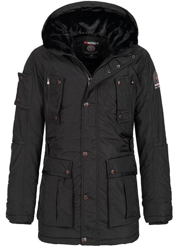 Geographical Norway Buche Men Parka Black
