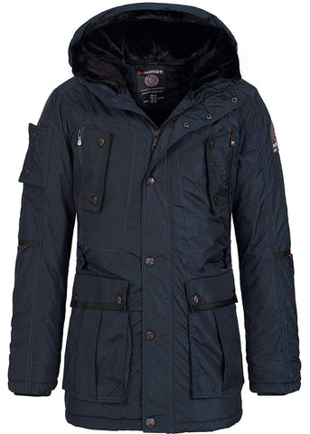 Geographical Norway Buche Men Parka Navy