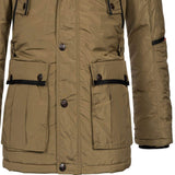 Geographical Norway Buche Men Parka Beige