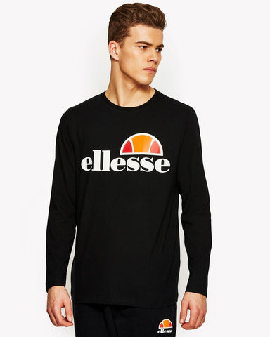 Ellesse Grazie Long Sleeve Tee Anthracite