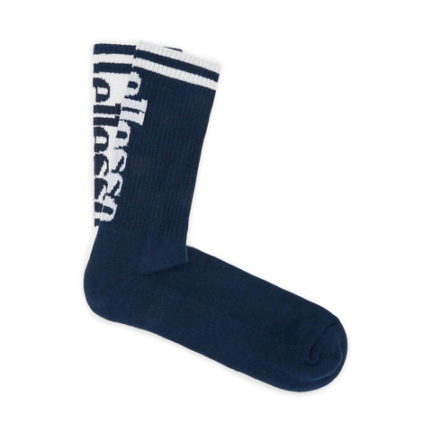 Ellesse Heritage Tommi 2 Pack Socks White / Dress Blues