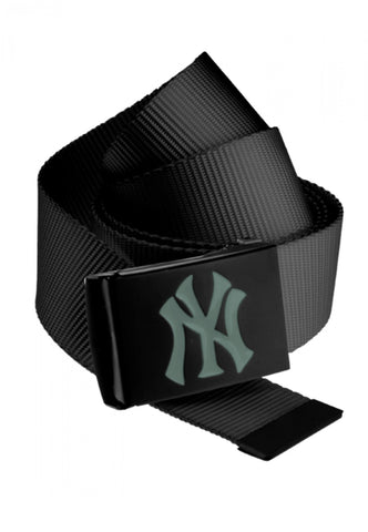 Masterdis MLB Premium Black Woven Belt Single Grey