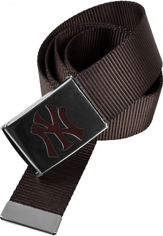 Masterdis Mlb Premium Woven Belt Brown