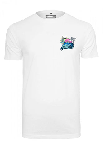 Pink Dolphin Roll Tide Tee White