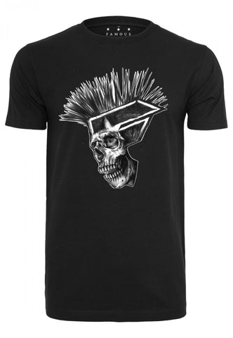 Famous FSAS Punks Not Dead Tee Black