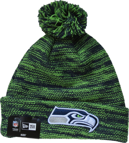New Era Zimná Čiapka NFL Marl Knit Kids Seattle Seahawks