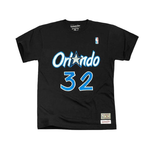 Mitchell & Ness Name & Number Tee Orlando Magic - Shaquille O'Neal Black