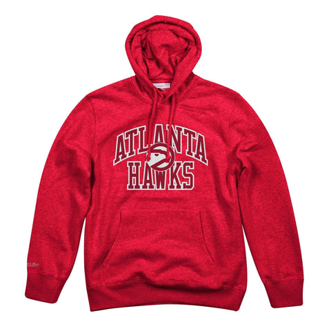 Mitchell & Ness Playoff Win Hoody Atlanta Hawks Red