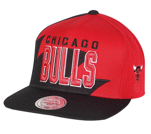 Mitchell & Ness Hwc Sharktooth Snapack Chicago Bulls Black