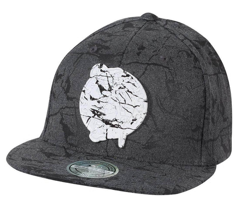 Mitchell & Ness NBA Marble Snapback Boston Celtics Charcoal