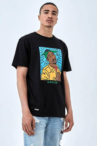 Cayler & Sons White Label C&S Wl King Lines Tee Black/Mc