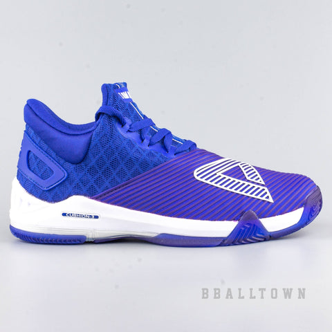 Peak Basketball Shoes GH3 Big Triangle Im Back Blue