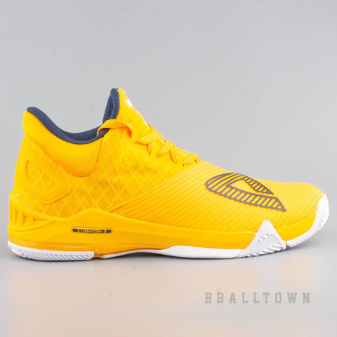 Peak Basketball Shoes GH3 Big Triangle Im Back Monk Yellow