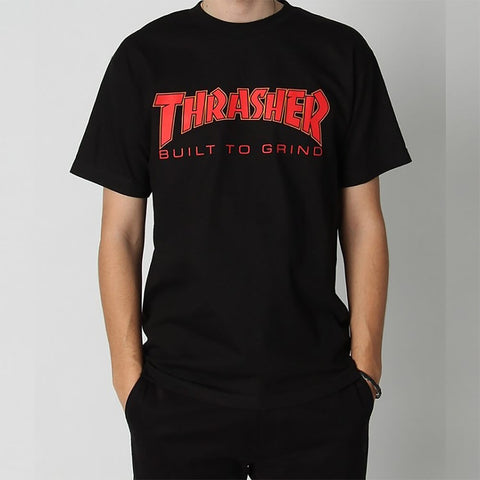 Thrasher X Independent Btg T-Shirt Black