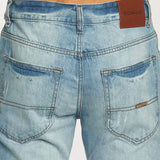 Rocawear Relaxed Leatherpatch Lighter Wash