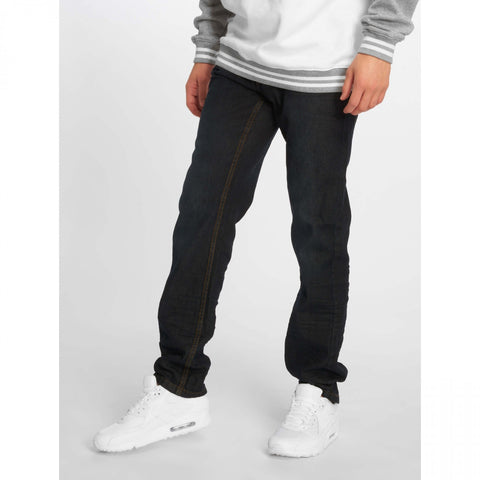 Rocawear Relaxed Flame Stiching Dark Blue Wash