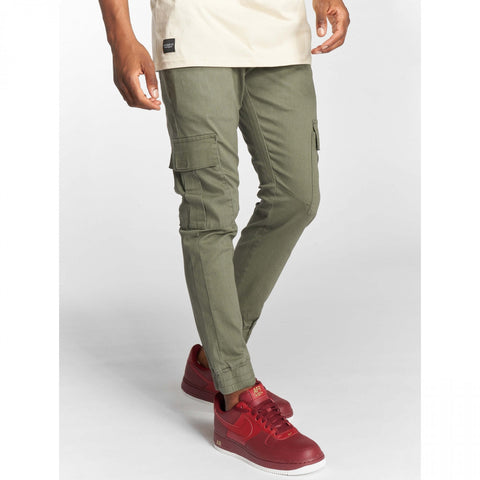 Rocawear Cargo Leatherpatch Olive