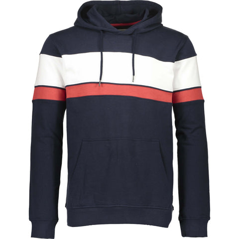 Shine Original Track Panel Hoodie Navy