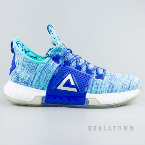 Peak Basketball Shoes Dwight Howard DH3 Low Blue c319cb73738
