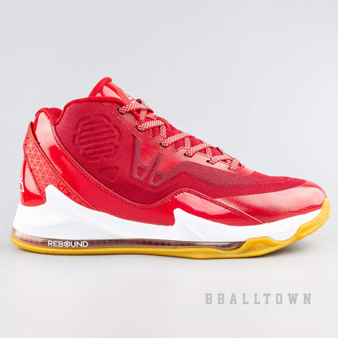 Peak Basketball Shoes Rebound Red