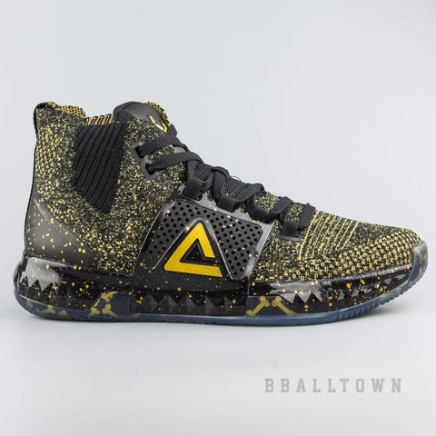 Peak Basketball Shoes Dwight Howard DH3 Year Of Dog Black/Lt.Gold
