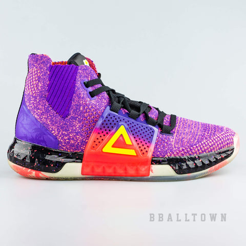 Peak Basketball Shoes Dwight Howard DH3 All Star Purple