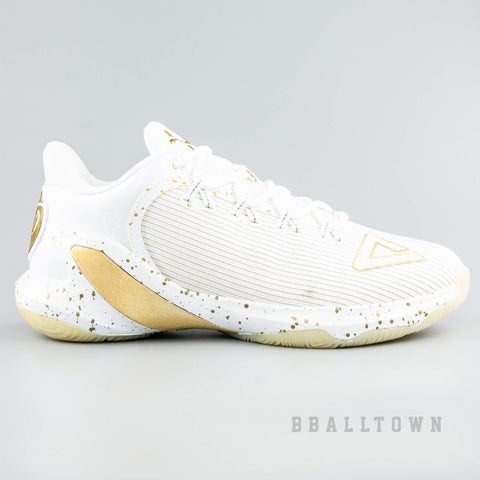 Peak Basketball Shoes Tony Parker TP9 V Year Of Dog White/Gold