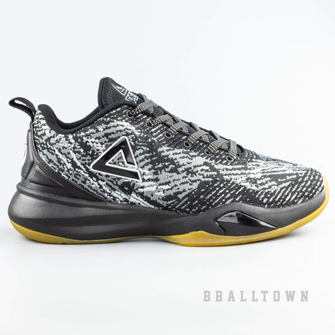 Peak Basketball Shoes Tony Parker Team Black/Silver Grey